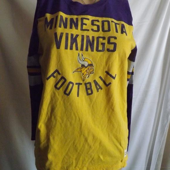 NFL Tops - Womens NFL Minnesota Vikings Football Shirt - LRG de0b7b46e